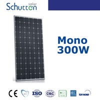 12V 300Watts High Efficiency Photovoltaic 300W Solar Panels Bect Price PV Panels Manufacturer