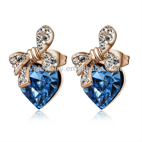 2014 new products fashion jewelry heart pendant jewelry party earring children sex photos party