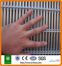 PVC coated 1x1 wire mesh fencing/Vandal Resistant security fencing