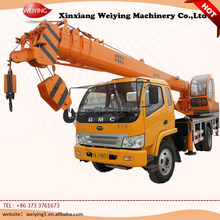 Chinese manufacturer factory cost the 10 ton sany truck crane