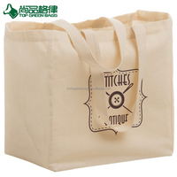 Custom Eco Friendly Strong Tote Cotton Reusable Grocery Bags With Logo