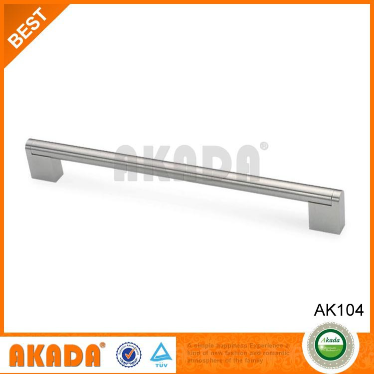 good price classical and modern type metal stainless steel long big furniture handle for cabinet drawer wardrobe kitchen