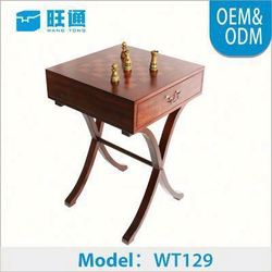 Hot selling European style Handmade Customized set chess board