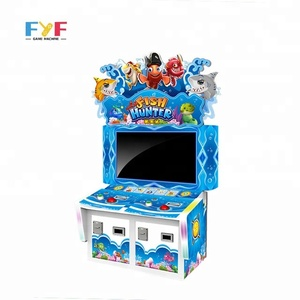 FYF arcade fishing game machine 2 players fish hunting lottery ticket machine fishing game