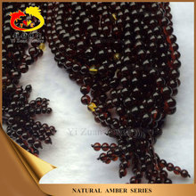 Big quantity Red color Natural baltic Raw amber beads