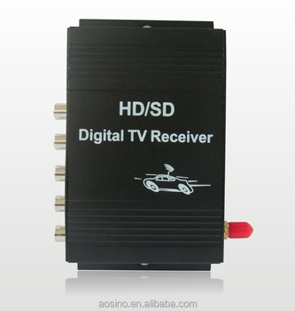 Mobile Digital TV Tuner Terrestrial Reception Box Car ISDB-T Brazil for Car Lcd Monitor digital freeview