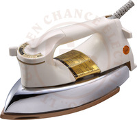 electric heavy dry iron 1000W Full-Cast Teflon Soleplate iron non-stick coating 3530