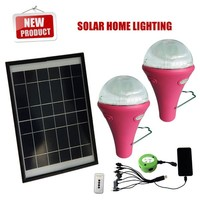 Best price solar lights with remote control,solar lighting system for indoor,led mini solar light kit