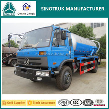 8000KG Payload Vacuum Pump Sewage Suction Tanker Truck for Sale
