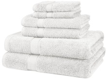 Factory Professionally 100% Cotton Egyptian 6 Pieces Towel Set Bath Hand Towels