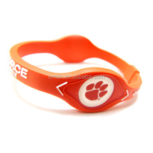 Dongguan factory manufacturer bracelet silicone for decorative as you check.
