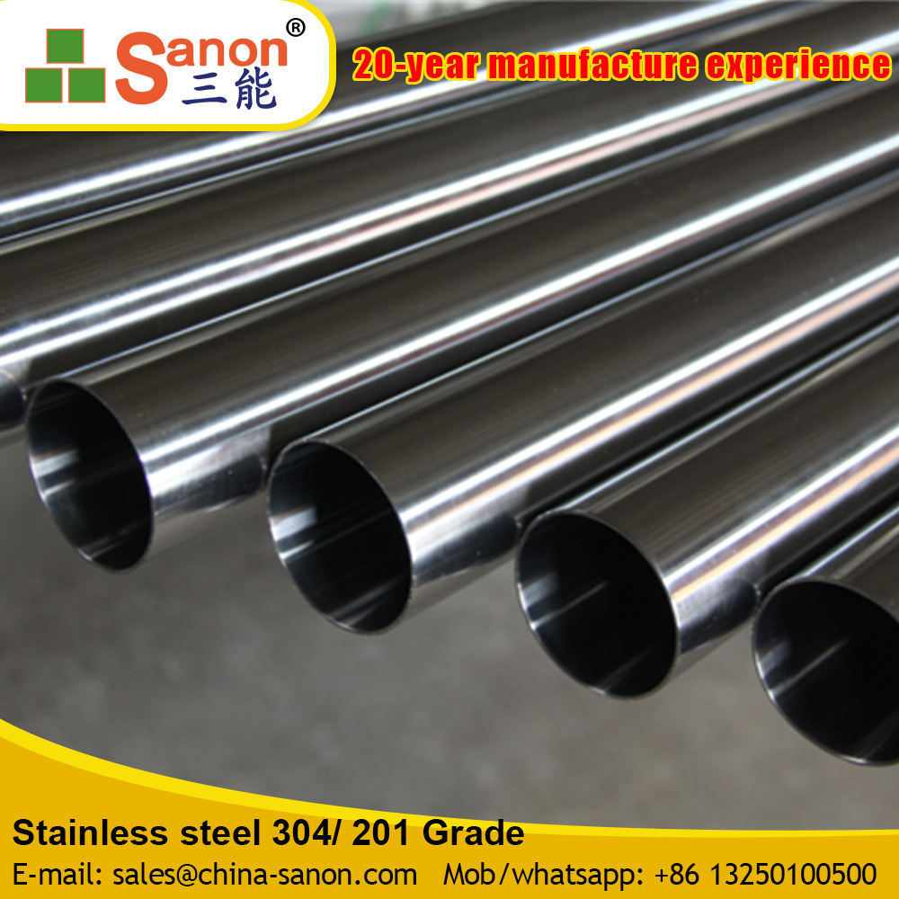 Home Decorative/Furniture Stainless Steel Pipe/Tube