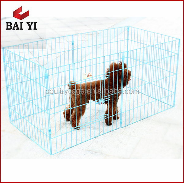 Baiyi Sale Stainless Steel Dog Kennels/Chain Link Dog Kennel And Large Dog Runs