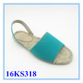 Light green comfort sandals style women espadrilles