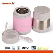 Everich Vacuum Insulated Lunch Box Food Carrier Bento Box Thermal Insulating Stainless Steel Lunch Containers