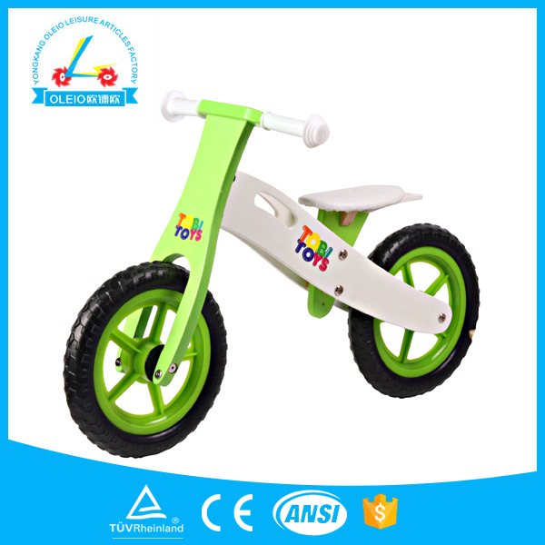 Topselling wooden children balance bike