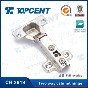 [CH.2619] 35mm cup cold-rolled steel self close conceal hinge