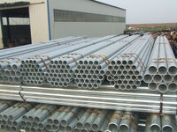 2014 Tianjin China manufacture galvanized iron pipe/tube for building structure, greenhouse frame