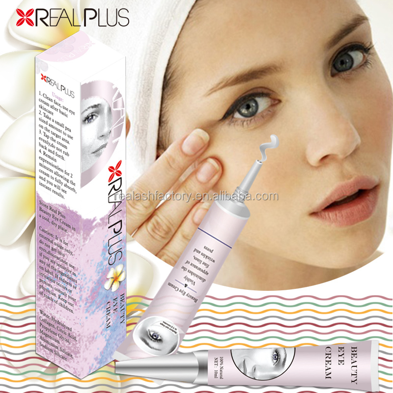 LOOK 10 YEARS YOUNGER-Hyaluronic Acid eye cream for puffiness sensitive eyes Real plus eye cream day or night