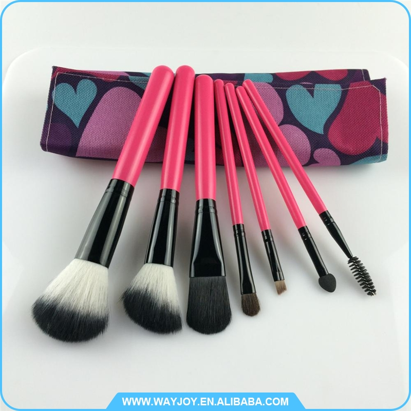 new product 2017 brand new traveling makeup brush set