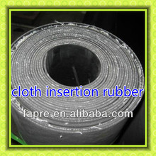 cloth insert rubber sheet cloth insertion rubber sheeting cloth inserted rubber mat
