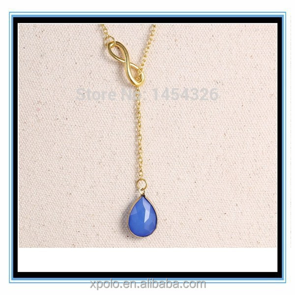 XP-MP-099366 FACTORY PRICE China whosale teardrop shaped pendant necklace