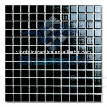 Hot sale Factory Supply black swimming pool tile 48x48mm(2'x2' inch) 23x23mm(1'x1' inch) 240x115mm