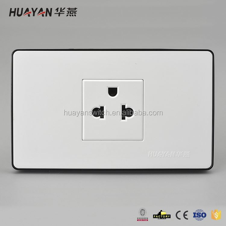 New product excellent quality pc plastic material electrical wall socket for home with good prices
