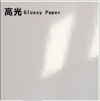 glossy paper