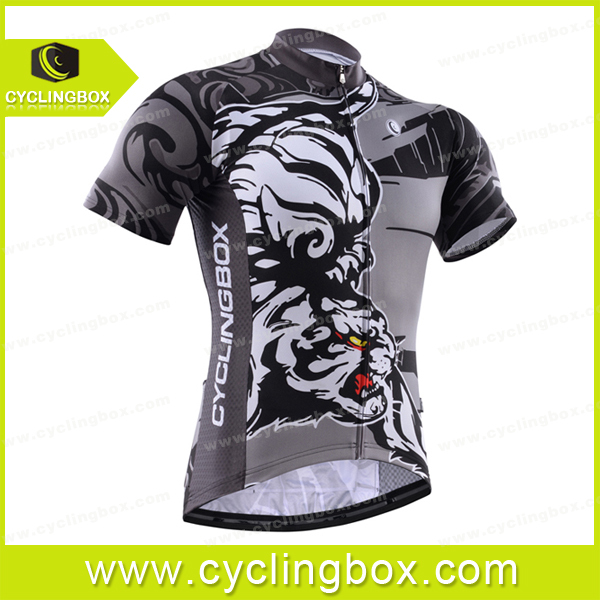 Custom men bicycle jersey short sleeve breathable