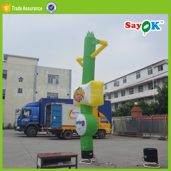 small inflatable air dancer costume dancing inflatable advertising man