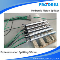Hydraulic piston Rock Splitter for rock