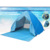 2018 hot sale auto quick pop up family outdoor hiking 2-3 persons inflatable folding bed camping tent