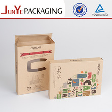 Cheap wholesale brown paper craft undergarment storage boxes