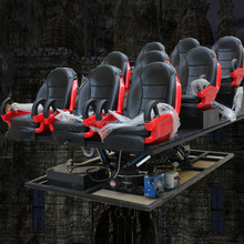 Small investment 5d cinema Simulator with 6/12 seats Electric system motion chair