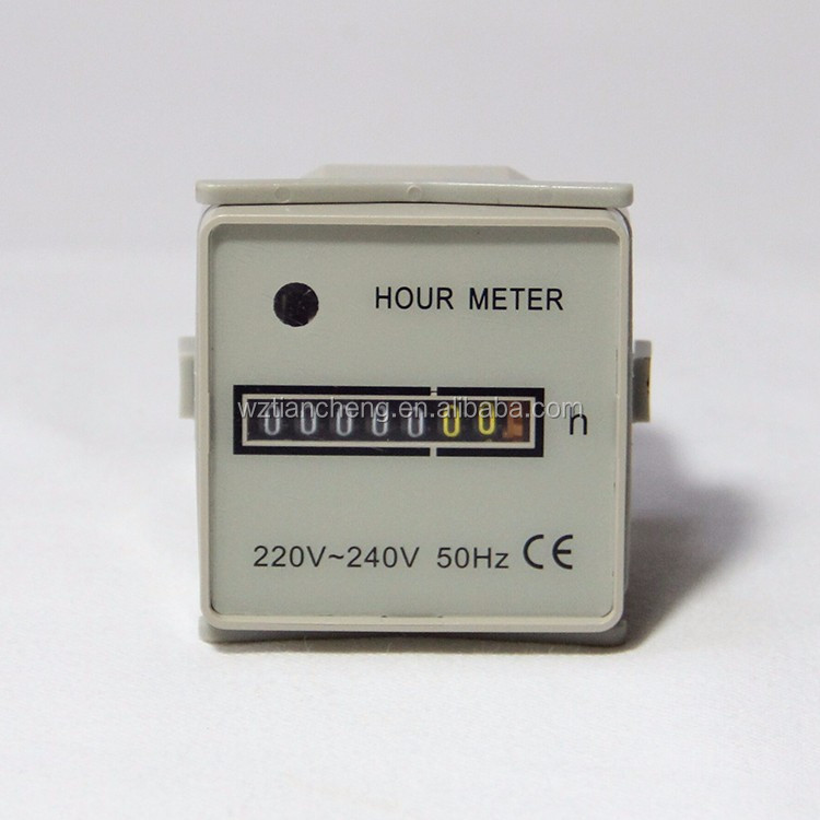 Hour Meter HM-1 48*48 Digital Industrial Mechanical
