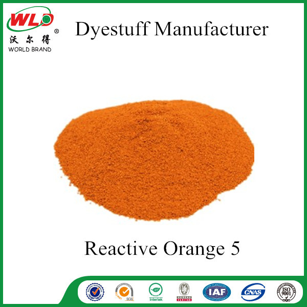 Brill Orange K-GN Reactive Dystuffs C.I.Reactive Orange 5 for Textile Dyeing