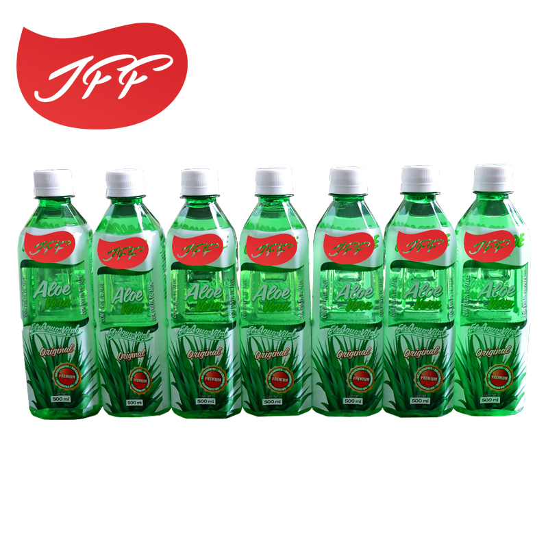 high quality 500ml Pet Bottle aloe vera Drink passion <strong>fruit</strong> flavor