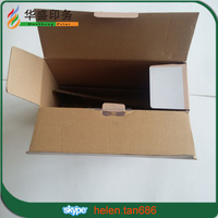 Wholesale high quality custom corrugated cardboard wine glass carrier box with dividers for sale