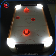 Hotsale Grappige Mini Air Hockey Game, Air Hockey Zwembad, LED Air Hockey Tafel