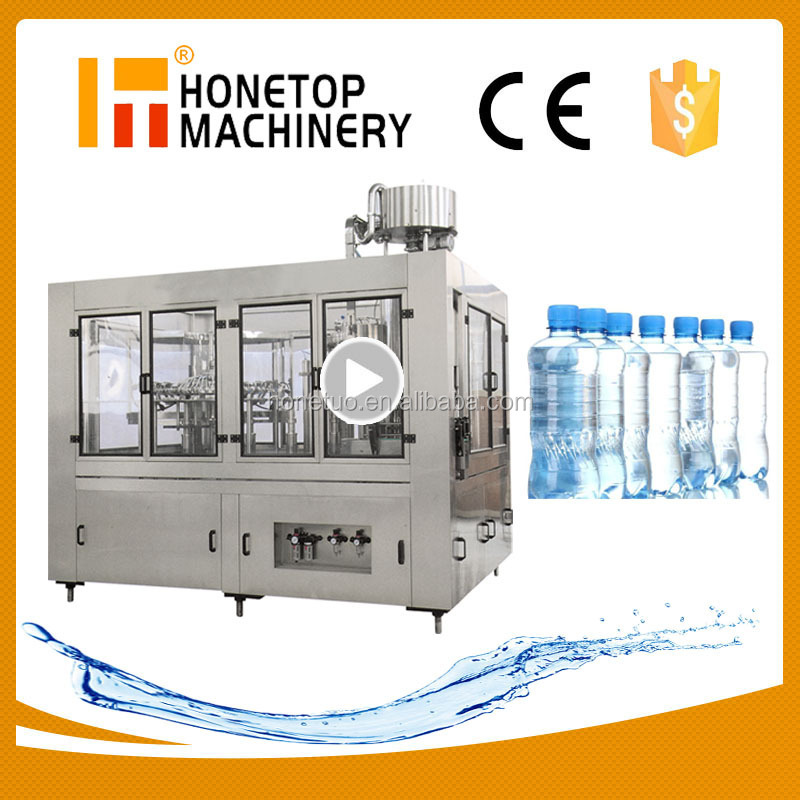Mineral Water Production Line, Bottle Water Filling Plant, Water Filling Line