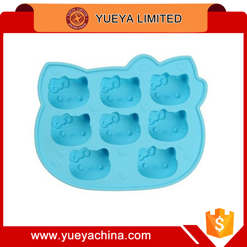 Cats Style Ice Cube Tray Mold Maker Pudding candy jello