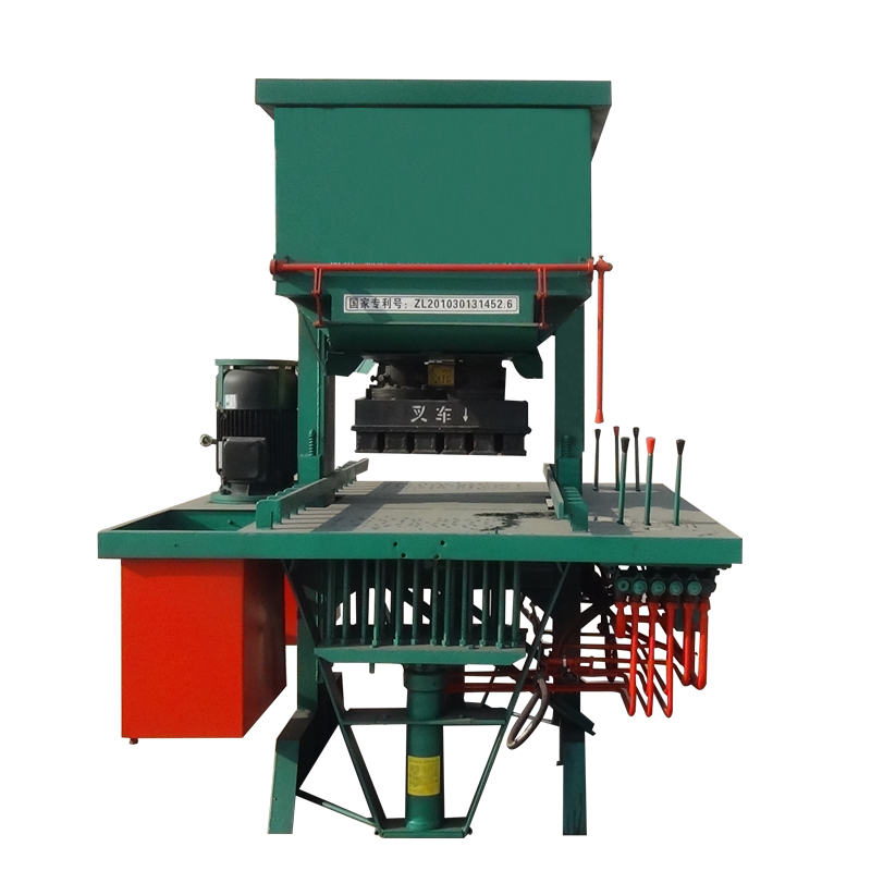 High hydraulic press sandstone block forming machine