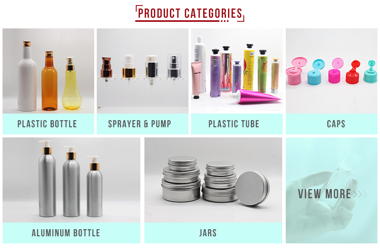High Quality PP Plastic Bottle Cosmetic 50g Face Cream Jars Refillable Bottle Cosmetic Foot Protector Containers
