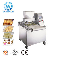 commercial automatic depositor cookie forming making mixer moon cake machine