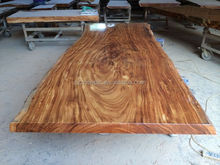 African big zebra/Acacia slab table/solid wood dining table