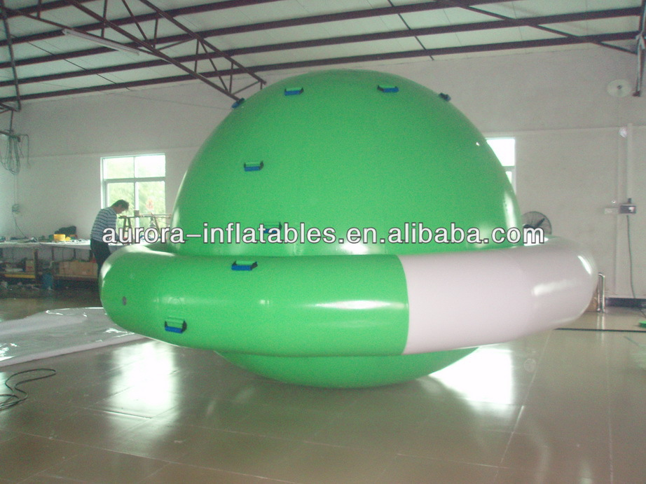 inflatable rotating Saturn for inflatable boat round