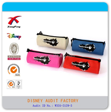 Printing customized zipper pencil bag, pen case polyester