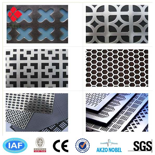 hot sale Stainless steel perforated metal sheet