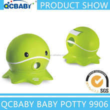 China best plastic baby potty closestool with lid for promotion